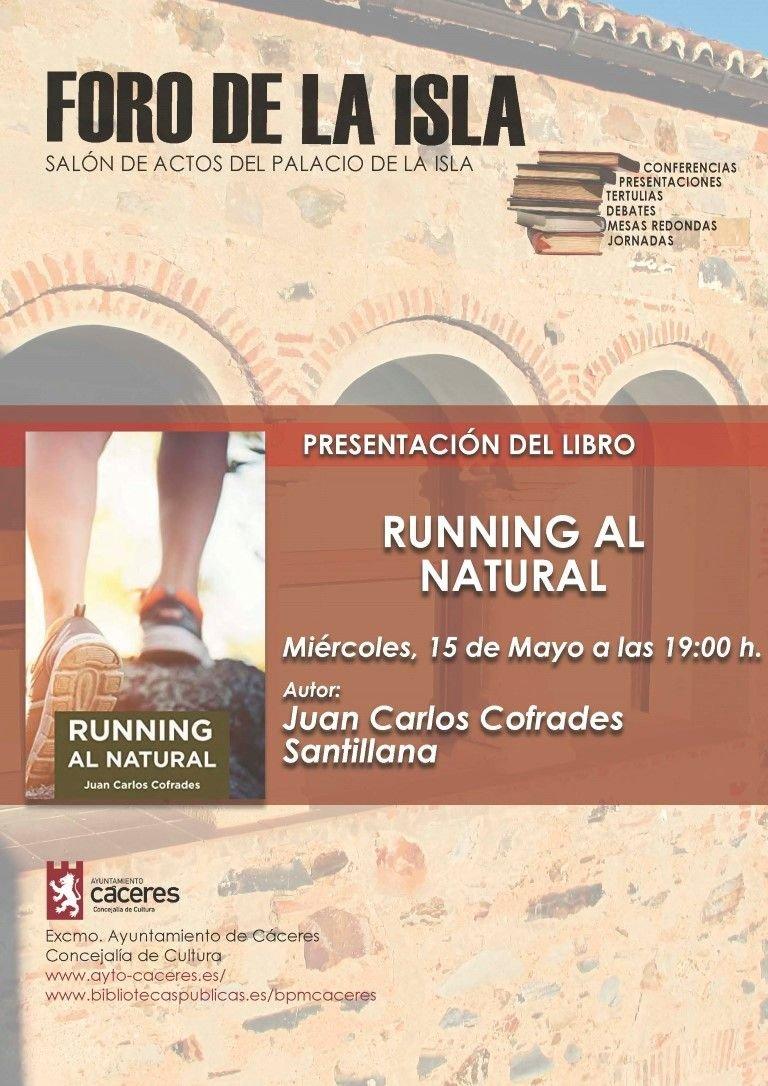 Presentación del Libro: Running al natural