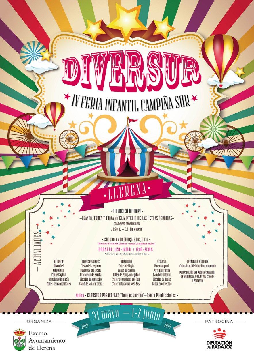 DIVERSUR 2019. IV Feria Infantil de la Campiña Sur