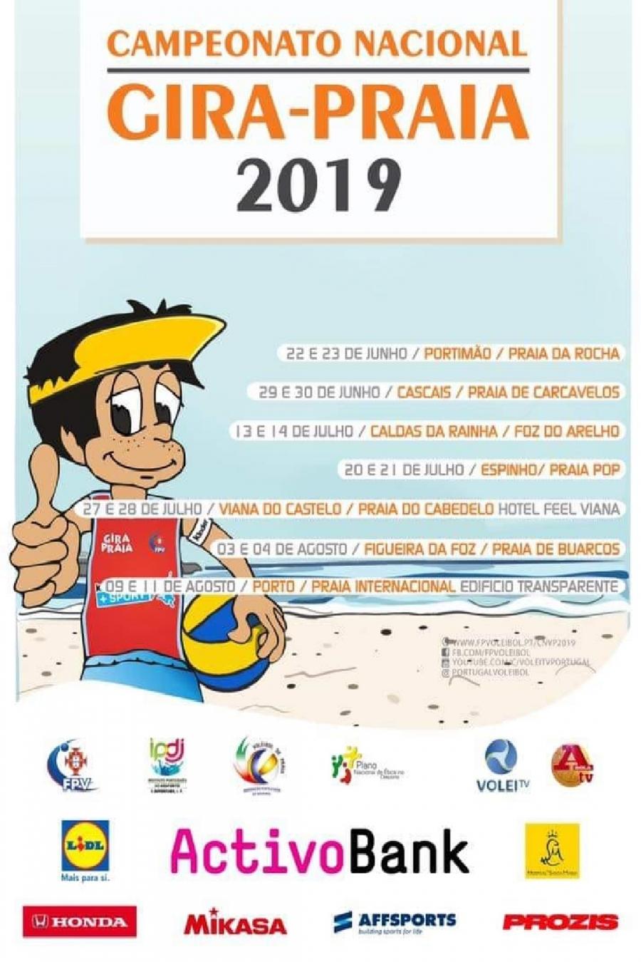 Campeonato Nacional Gira-Praia na Foz do Arelho