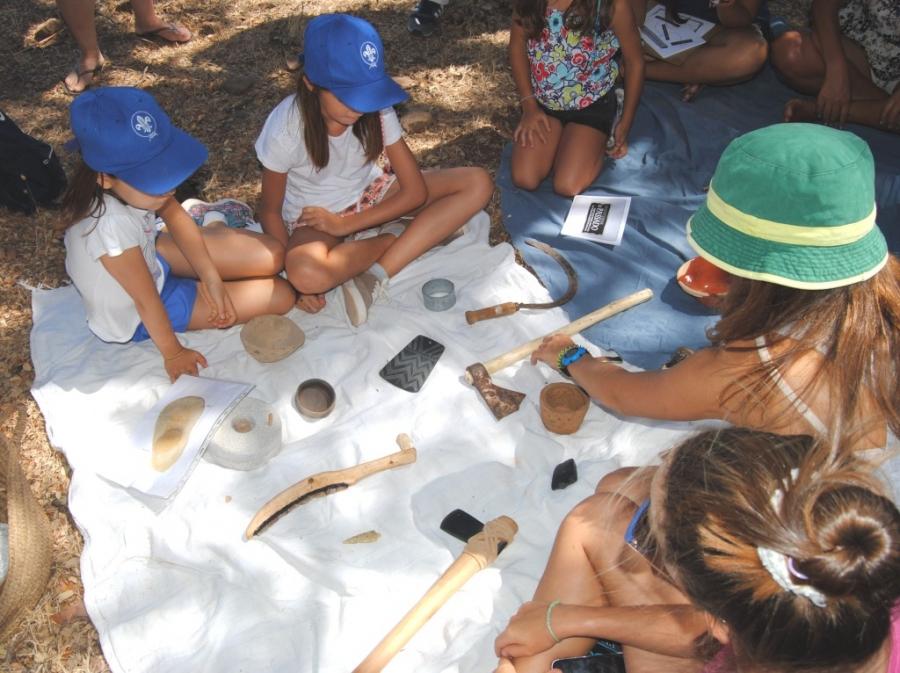 Oficinas de Verão no CIIPC - Arqueologia e pré-história