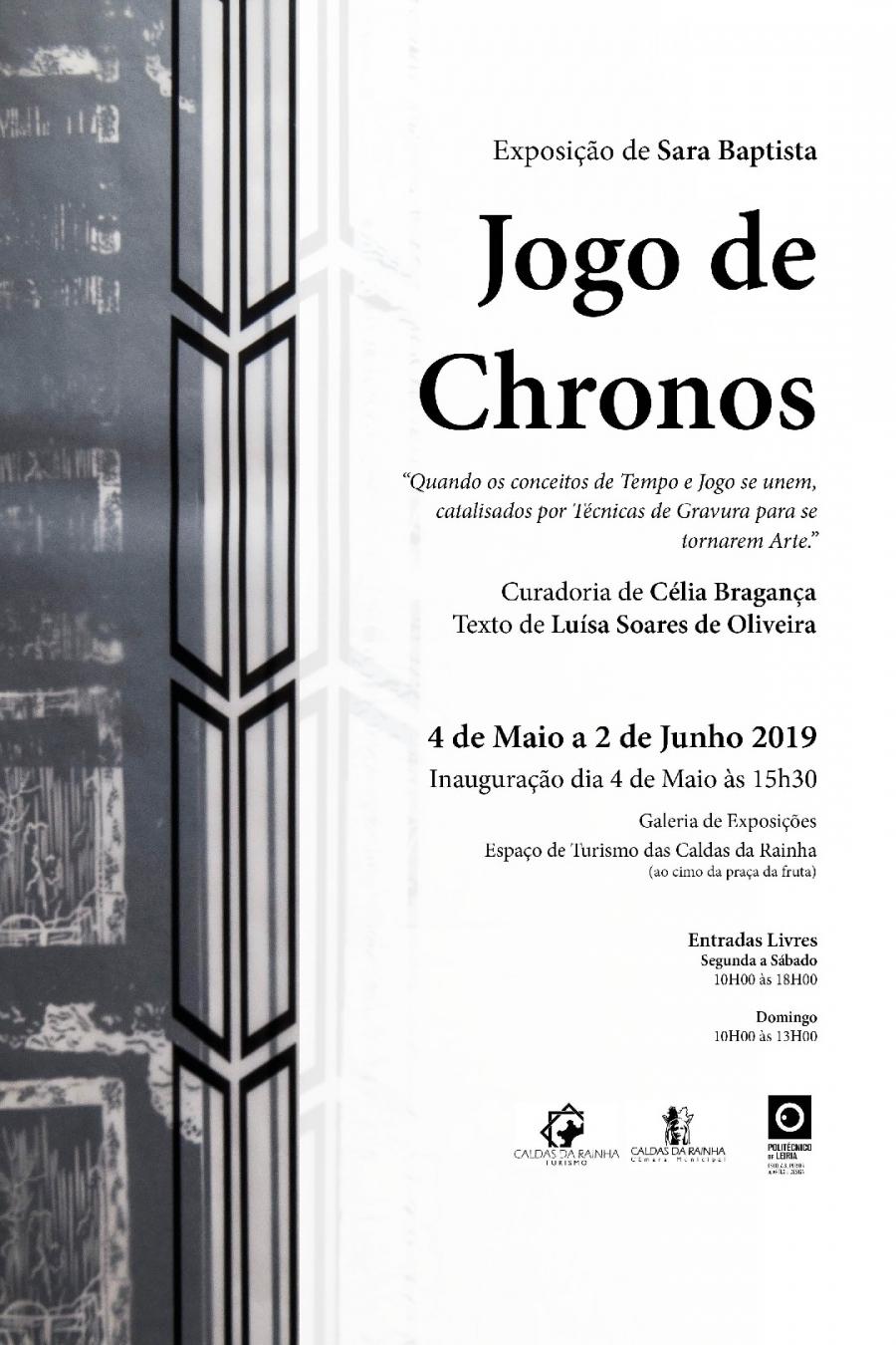 Exposição 'Jogo de Chronos', de Sara Baptista