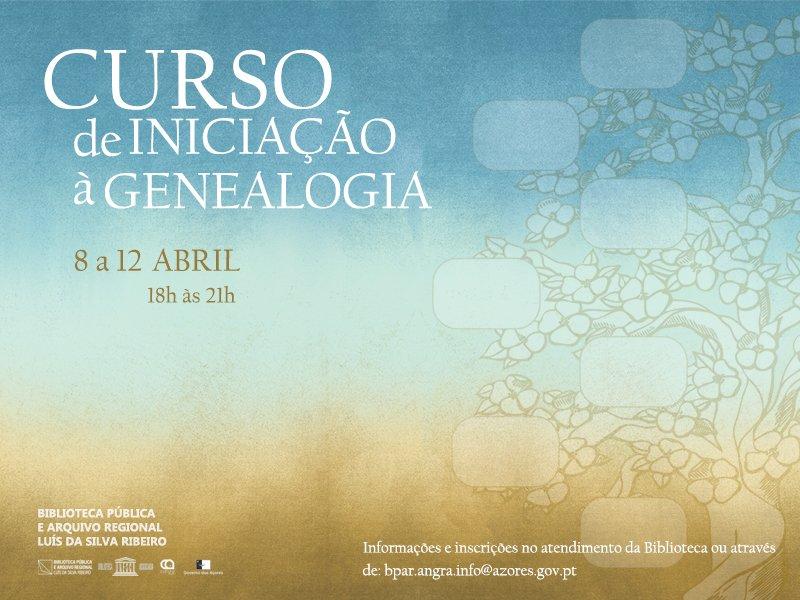 Curso de Iniciação à Genealogia