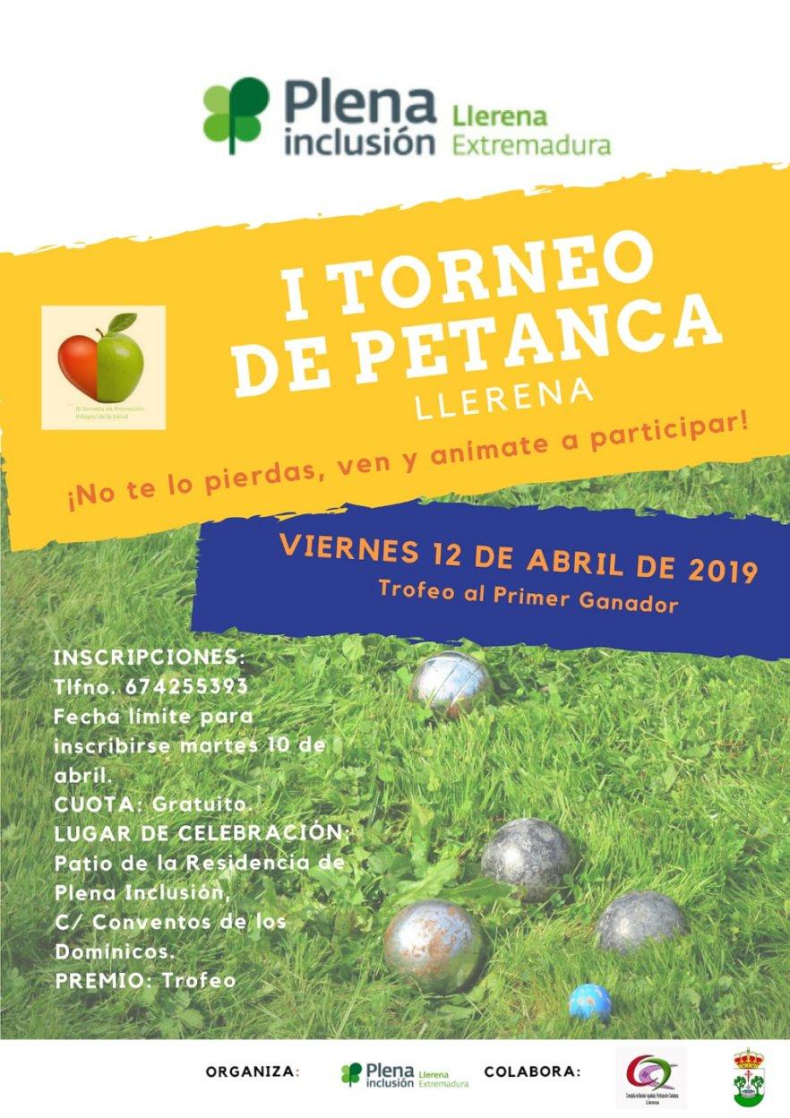 I Torneo de Petanca