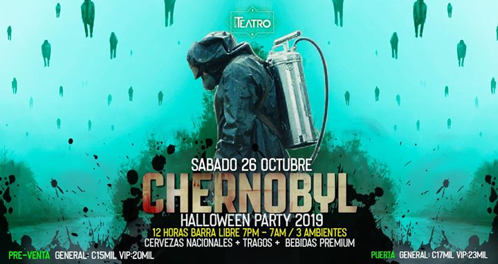 Chernobyl ¡Halloween! Club Teatro