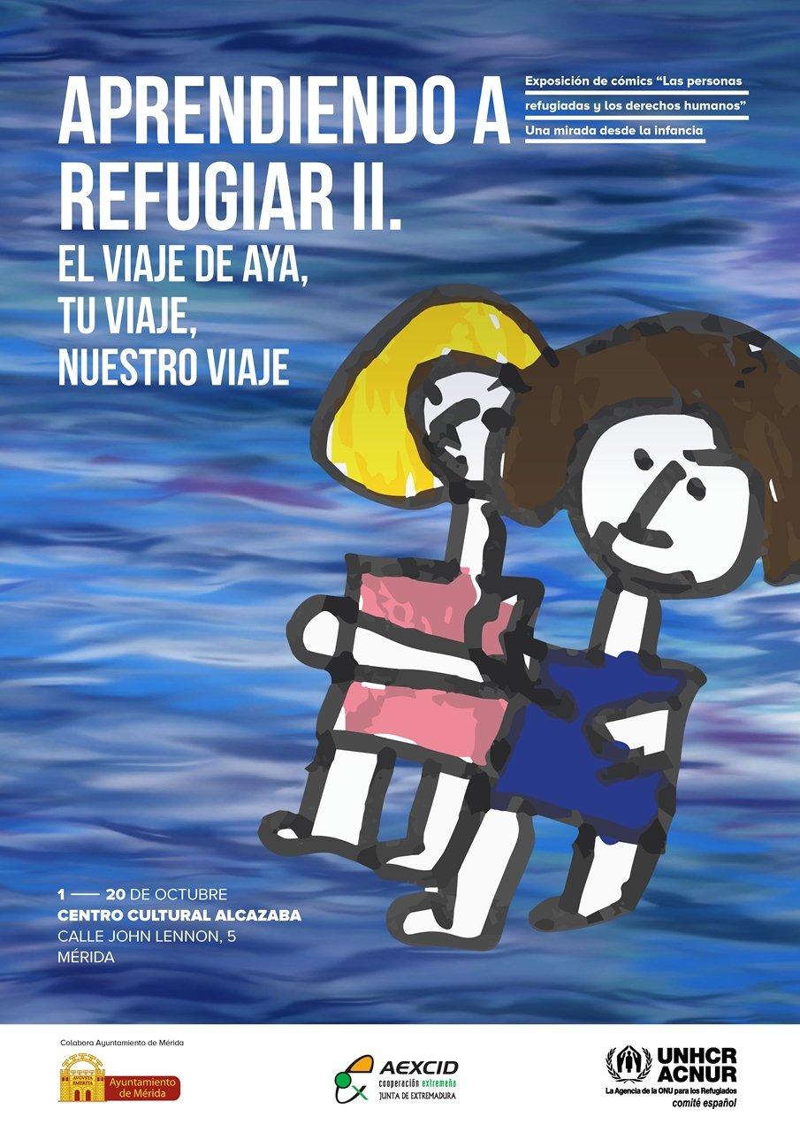 Exposición de cómics 'Las personas refugiadas y los derechos humanos'