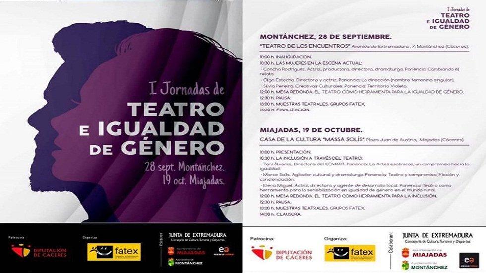 I Jornadas de Teatro e Igualdad de Género - MONTÁNCHEZ