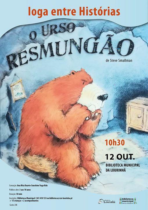 Ioga Entre Histórias | O Urso Resmungão
