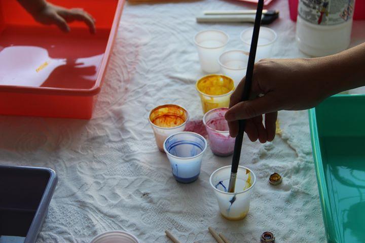 OJO Workshops - Oficina de Pintura