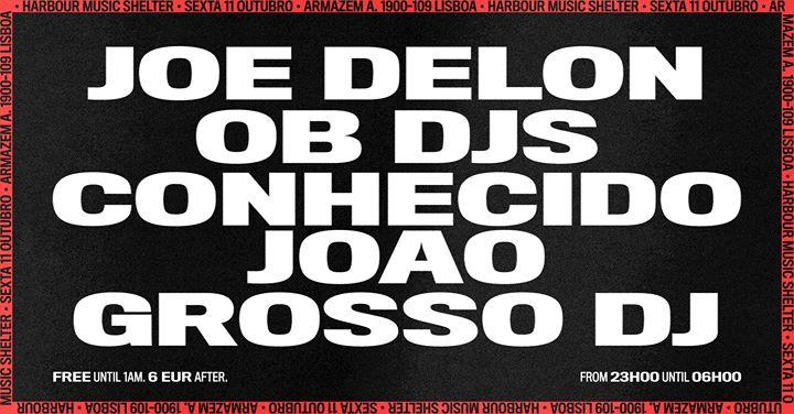 Joe Delon • OB DJs • Conhecido João x Grosso DJ