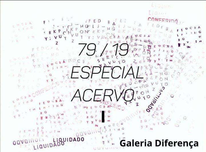 Inauguração da exposição Especial Acervo I da Galeria Diferença