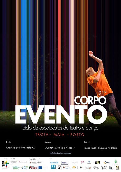 Corpo Evento - Ciclo de Espetáculos em Teatro e dança