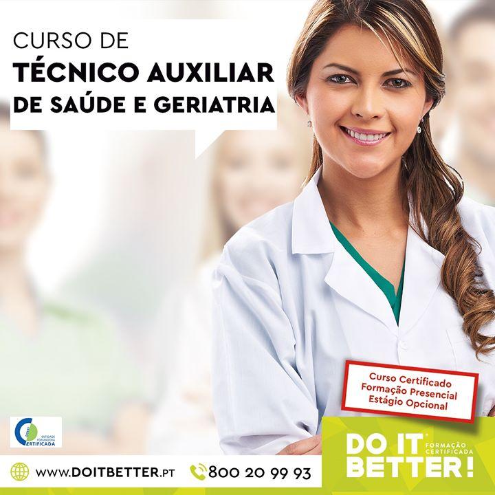 Curso de Técnico Auxiliar de Saúde e Geriatria