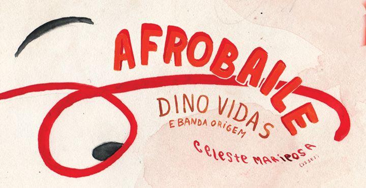 Afrobaile: Dino Vidas e banda Origens . Celeste Mariposa