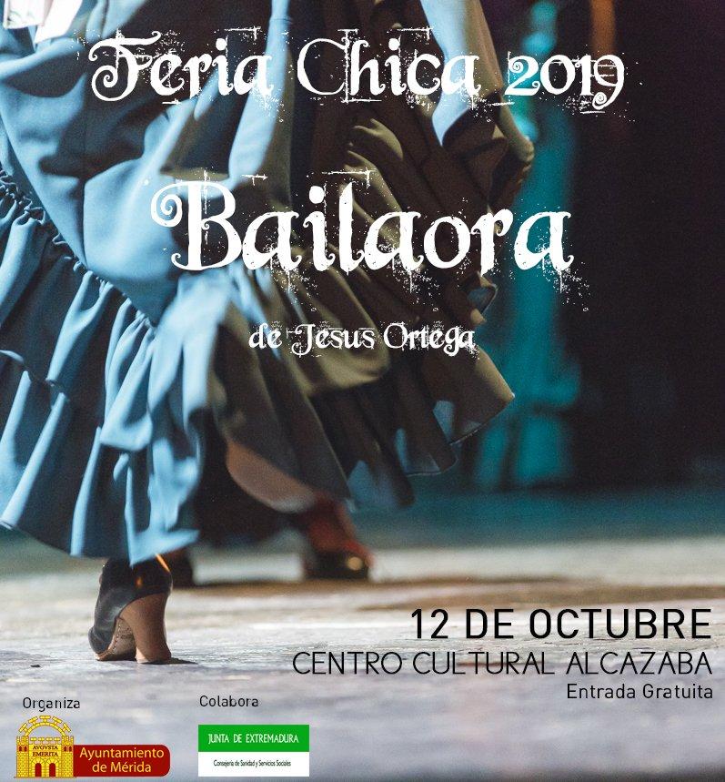 Espectáculo 'Bailaora' (Feria Chica 2019)