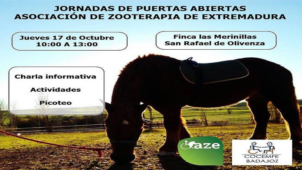 Jornadas de Puertas Abiertas Asociación Zooterapia