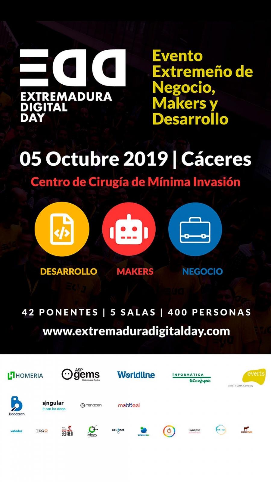 Extremadura Digital Day 2019