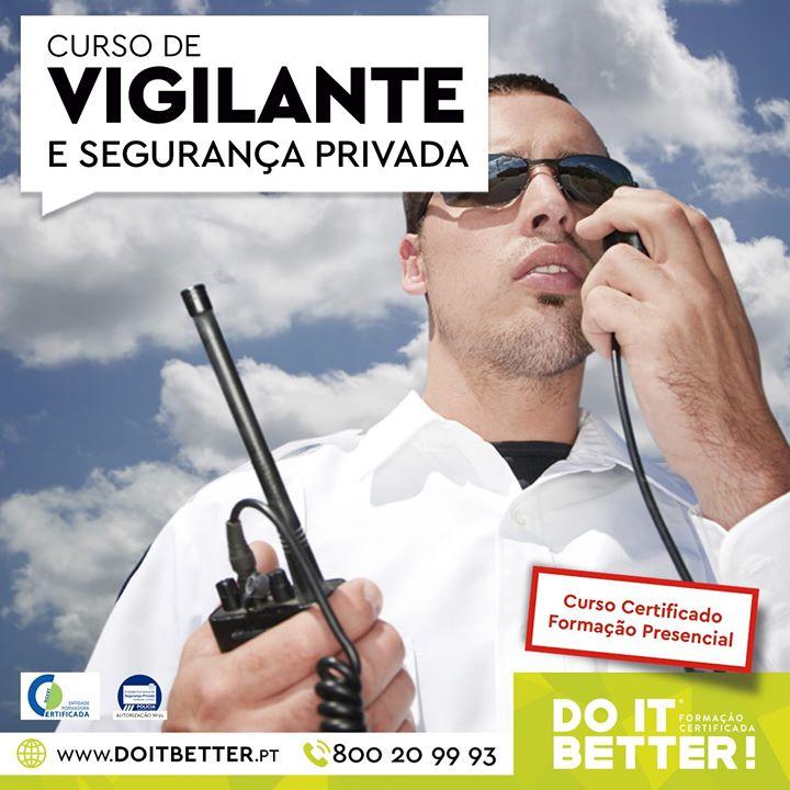 Curso de Segurança Privada - Vigilante e Segurança-Porteiro