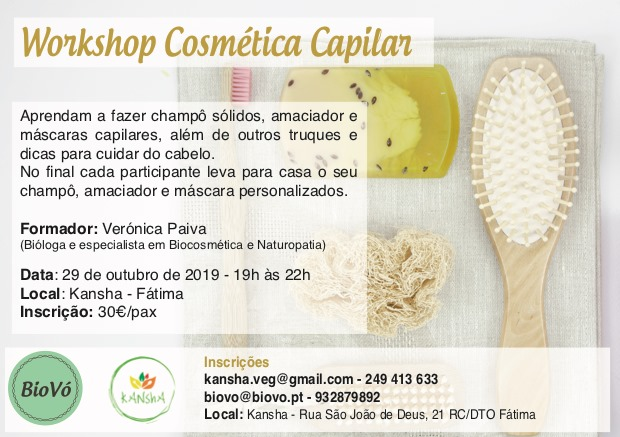 Workshop Cosmética Capilar