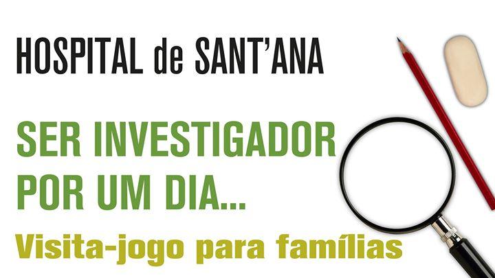 Ser Investigador por um dia! | Visita Jogo em Família
