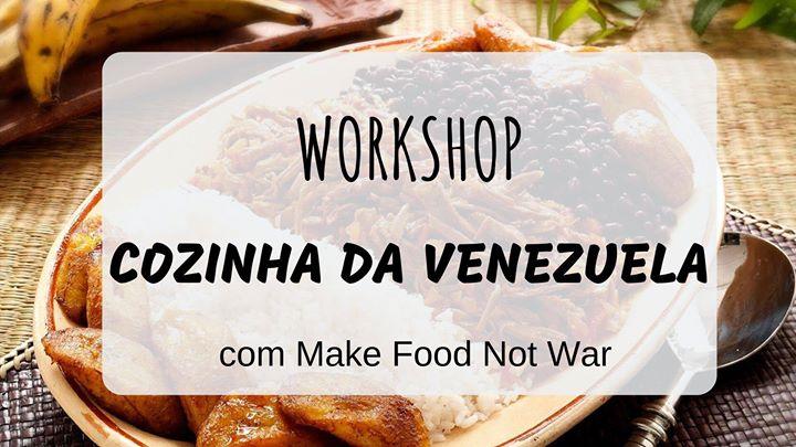 Workshop de Cozinha da Venezuela