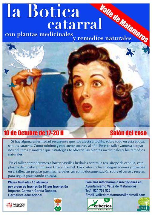 Botica Catarral con plantas medicinales y remedios naturales