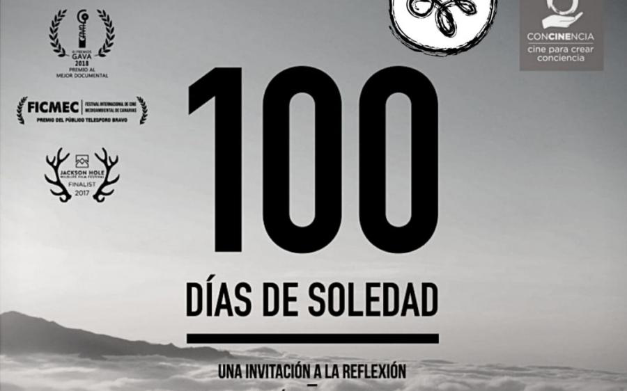 REFERENTES A ESCENA. JOSÉ DÍAZ, presenta el documental 100 DÍAS DE SOLEDAD