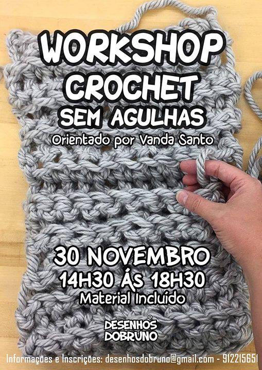 Workshop Crochet sem agulhas