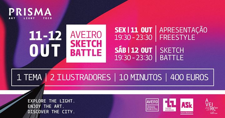 Aveiro Sketch Battle // Prisma