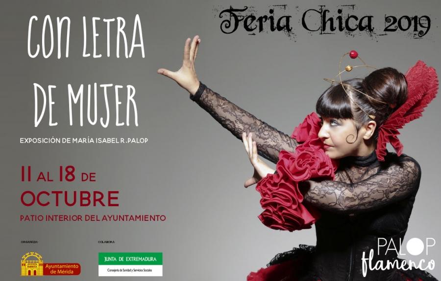 Exposición 'Con Letra de Mujer' (Feria Chica 2019)