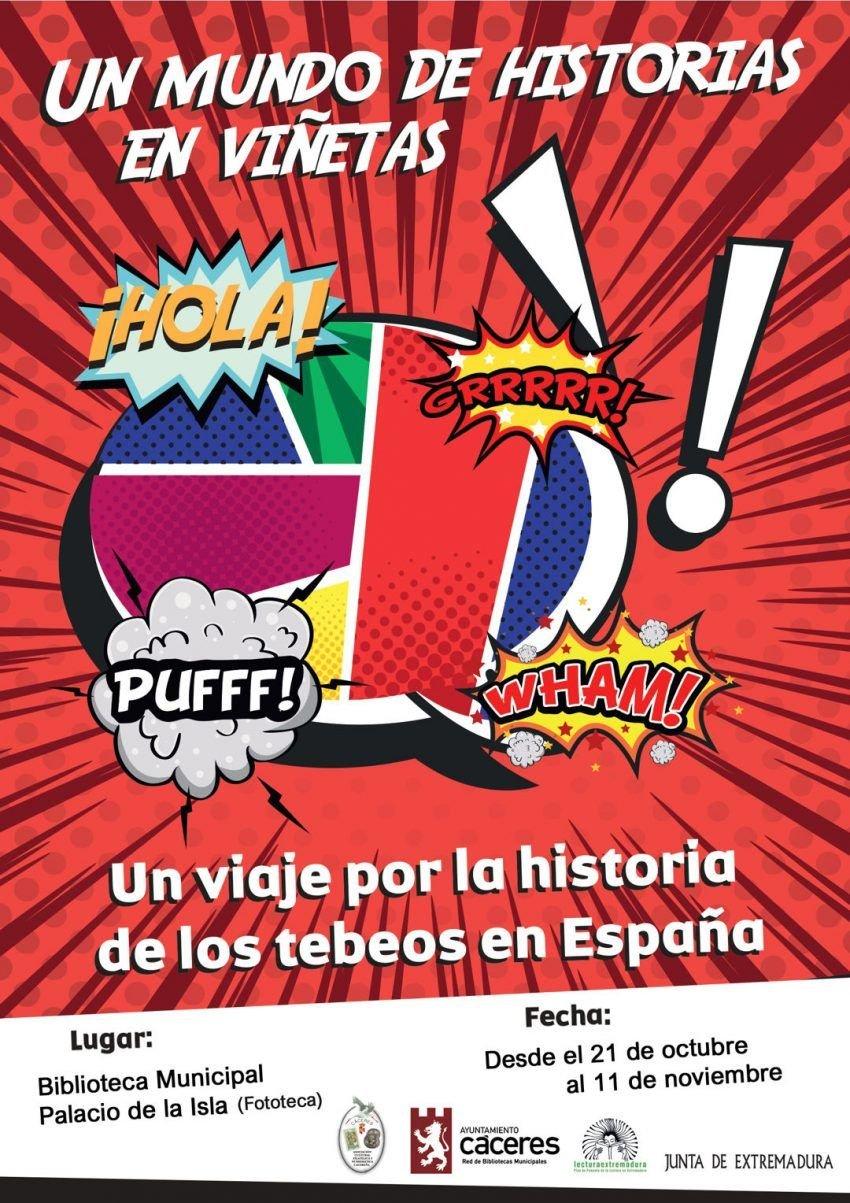 "Exposición ""Un mundo de historias en viñetas"""
