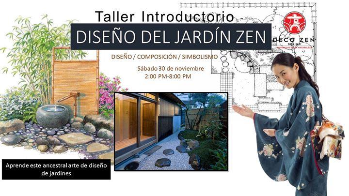 Taller introductorio de diseño del jardín zen