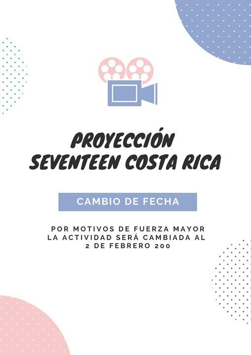 Proyección Seventeen 1st World Tour: Diamond Edge
