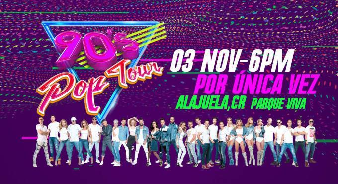90's Pop Tour En Costa Rica