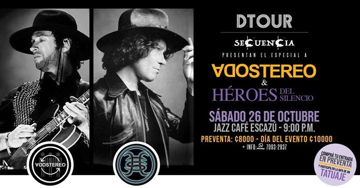 Una Noche de Soda Stereo & Héroes del Silencio