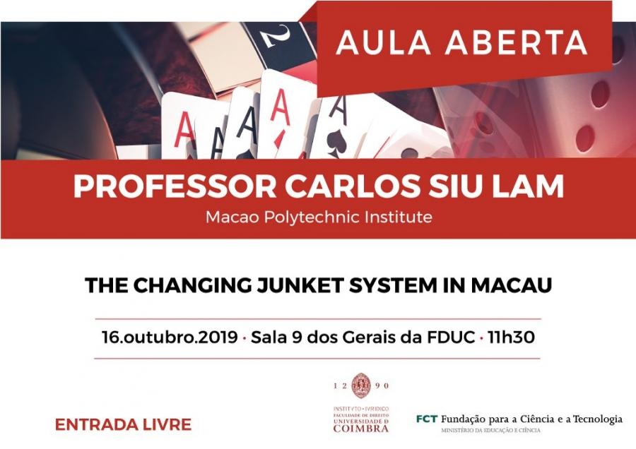 Aula Aberta · Professor Carlos Siu Lam