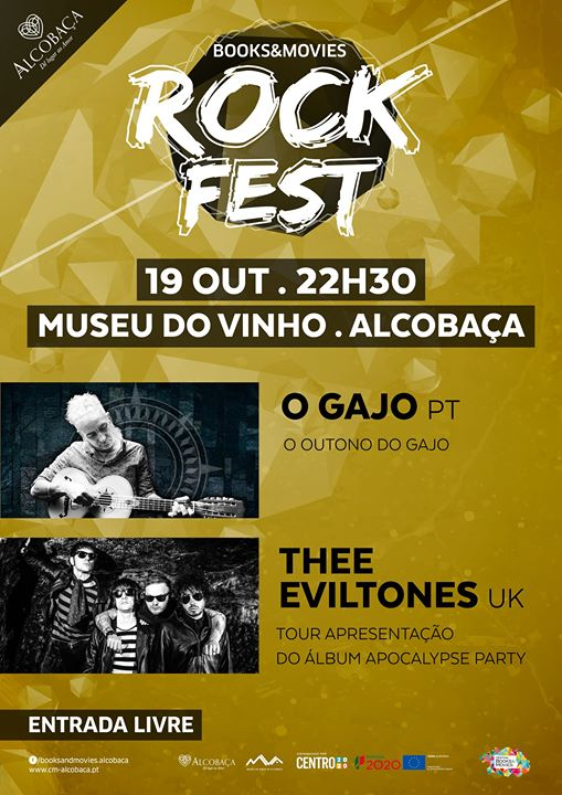 B&M - Rock Fest - O Gajo & Thee Evil Tones