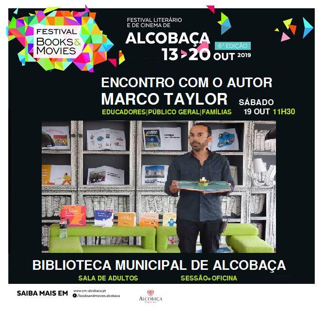 B&M - Sessão Literária - Conversa com Marco Taylor