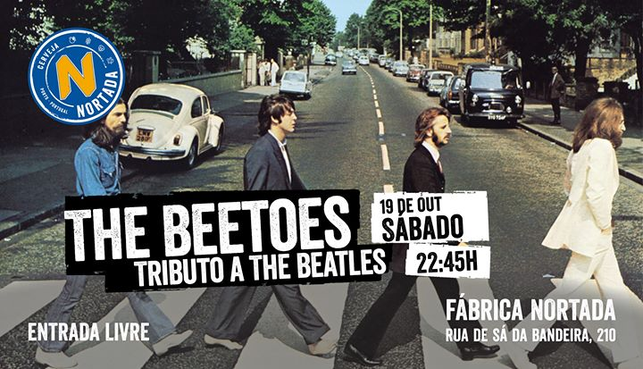Tributo a The Beatles - The Beetoes - Fábrica Nortada