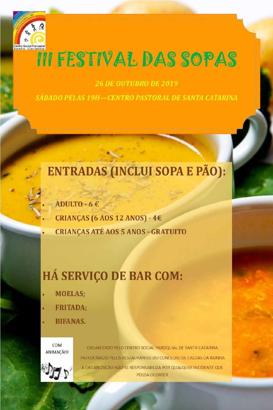 III Festival das Sopas em Santa Catarina