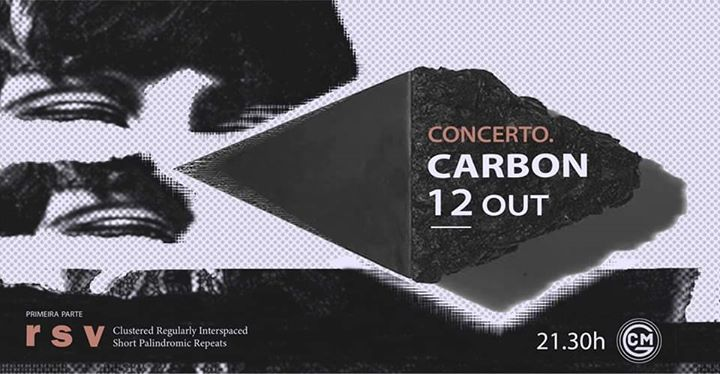 Carbon + r s v ao vivo