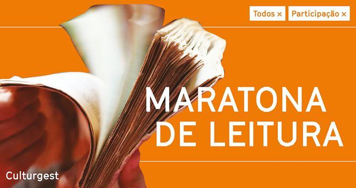 Participação x Maratona de Leitura na Culturgest