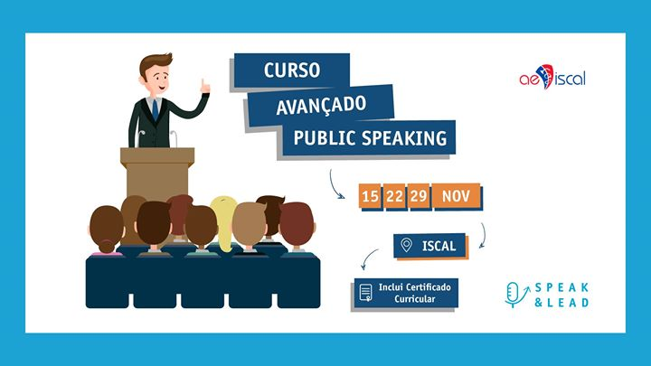 Curso Avançado de Public Speaking - ISCAL