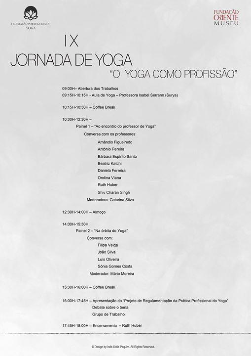 IX Jornada de Yoga