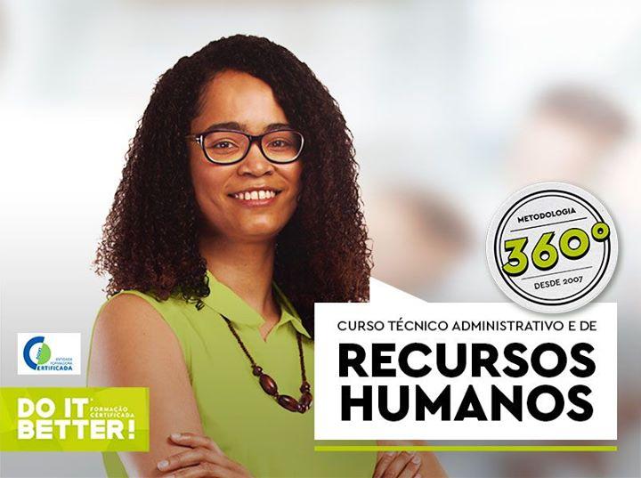 Curso Técnico Administrativo e de Recursos Humanos Pós-laboral