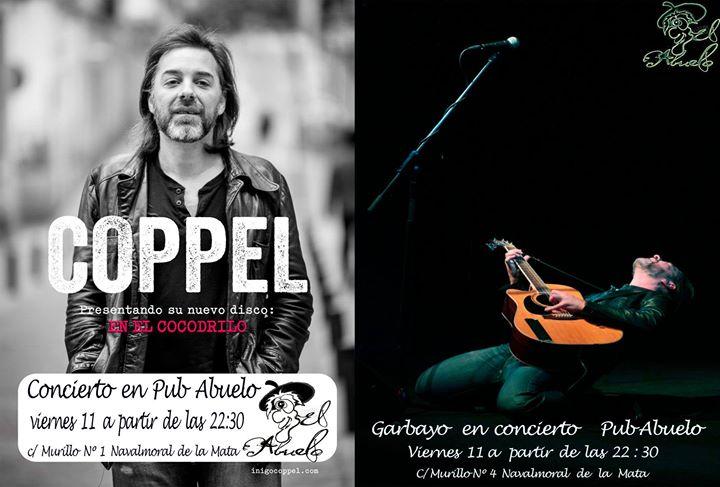 Coppel + Garbayo en concierto