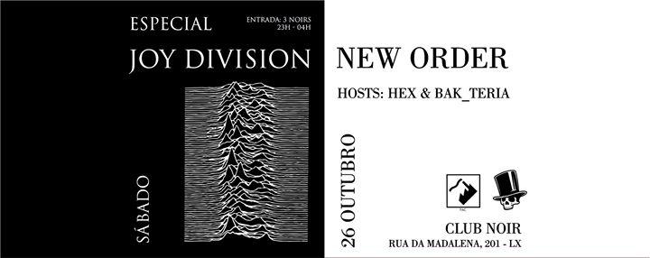 Especial Joy Division / New Order