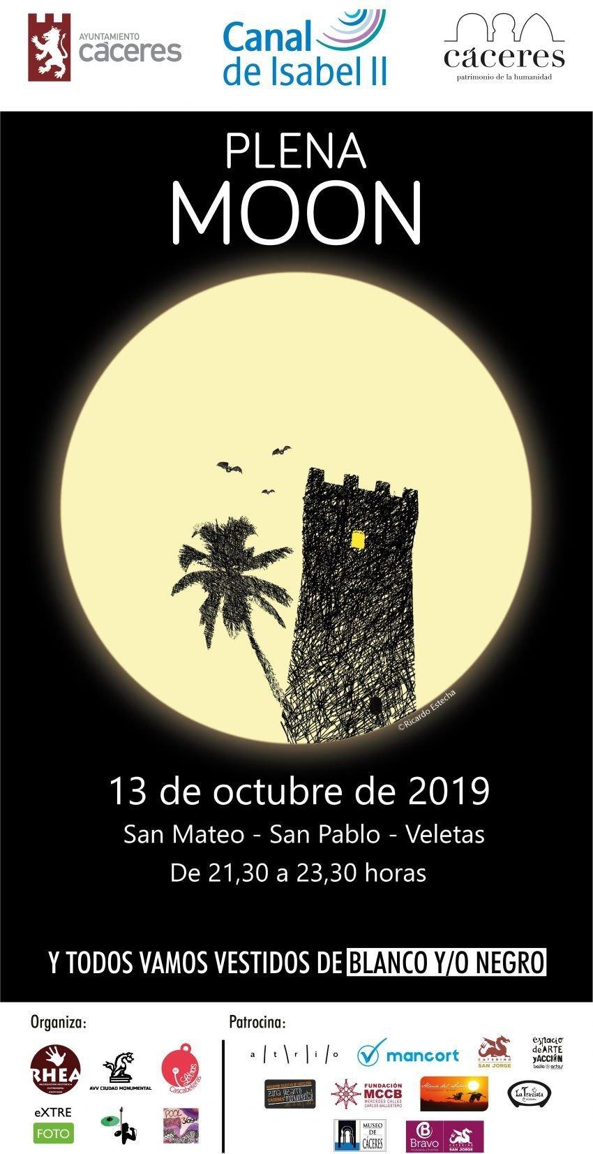 Plena MOON Cáceres 2019 | OCTUBRE