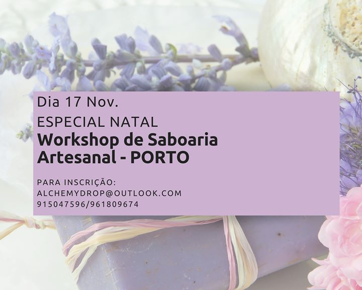 Workshop De Saboaria Artesanal-Porto