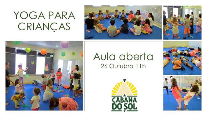 YOGA para Crianças | Aula Aberta