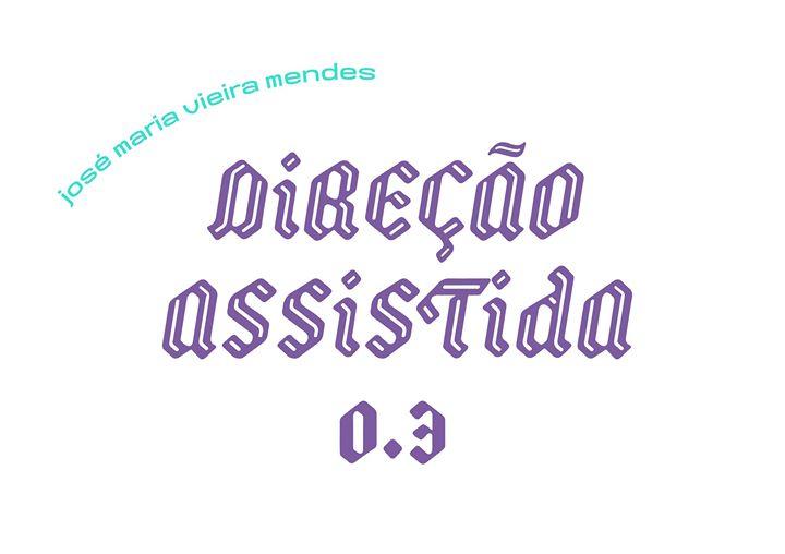 Direção Assistida 03 | J. M. Vieira Mendes